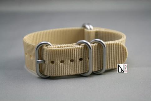 Bracelet nylon NATO ZULU Beige Sable