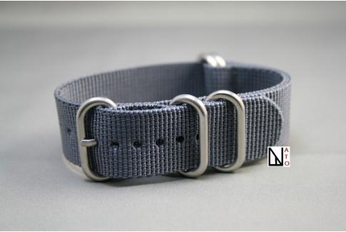 Bracelet nylon NATO ZULU Gris