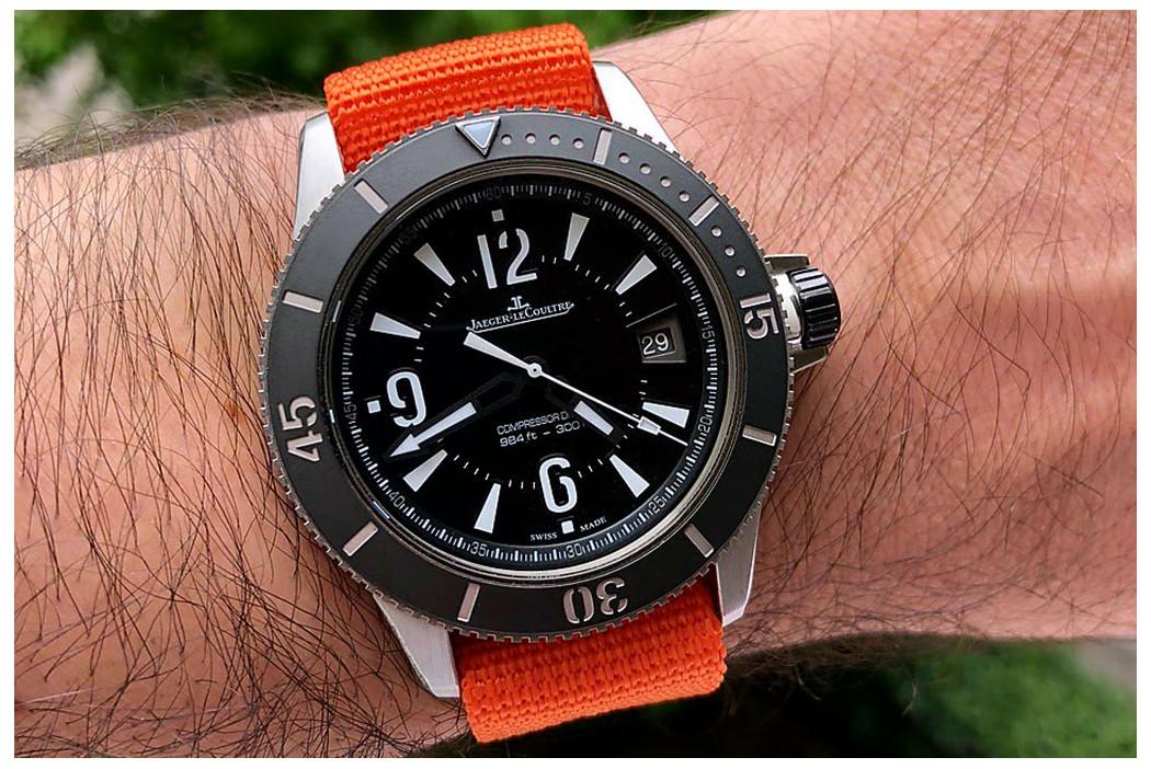 Bracelet nylon ZULU Orange