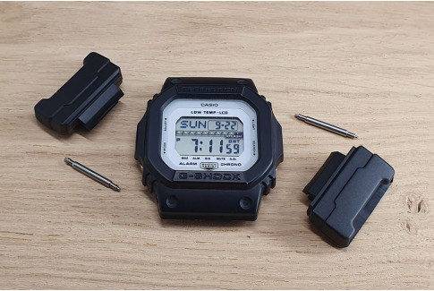 Casio G-Shock adapters for NATO and other 1 piece watch straps