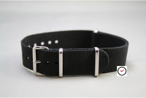 Black G10 NATO strap (nylon)