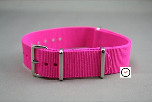 Fuchsia Pink G10 NATO strap (nylon)