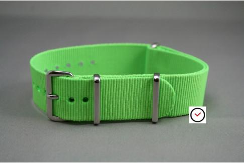 Bracelet nylon NATO Vert Fluo