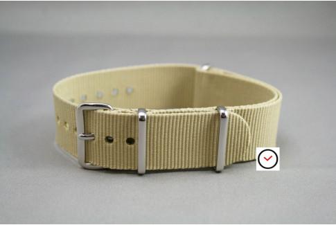 Sandy Beige G10 NATO strap (nylon)