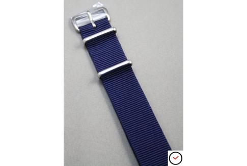 Bracelet nylon NATO Bleu Navy