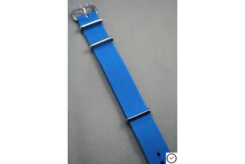 Bracelet nylon NATO Bleu Caraïbes