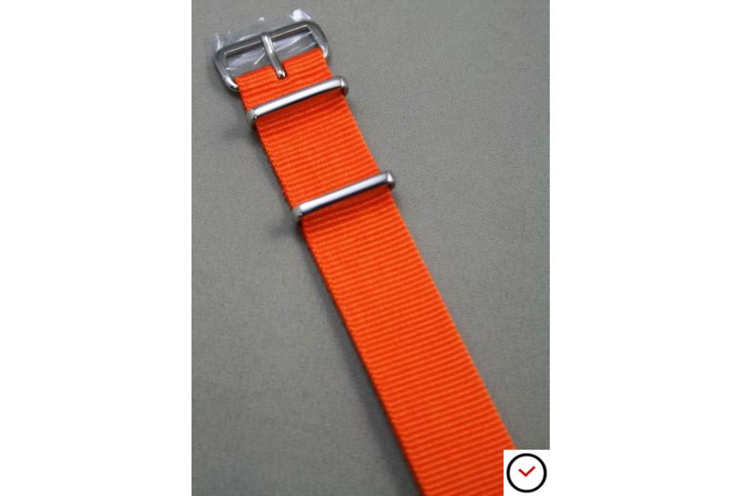 Bracelet nylon NATO Orange