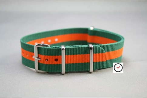 Green Orange G10 NATO strap (nylon)