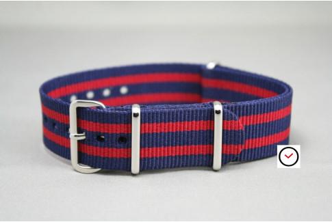 FC Barcelone - Barça G10 NATO strap (Dark Blue Red)