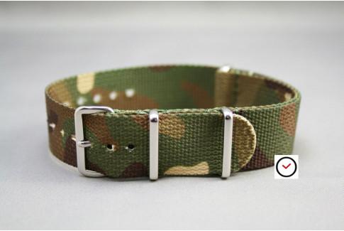 Camouflage G10 NATO strap (nylon)