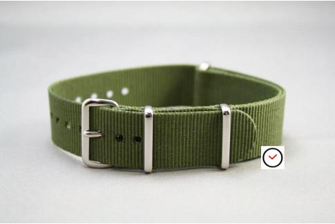 Bracelet nylon NATO Vert Kaki