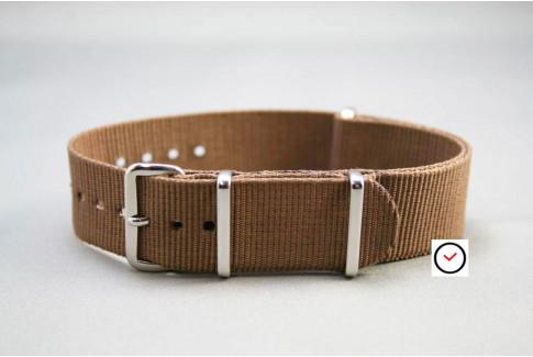 Brown G10 NATO strap (nylon)