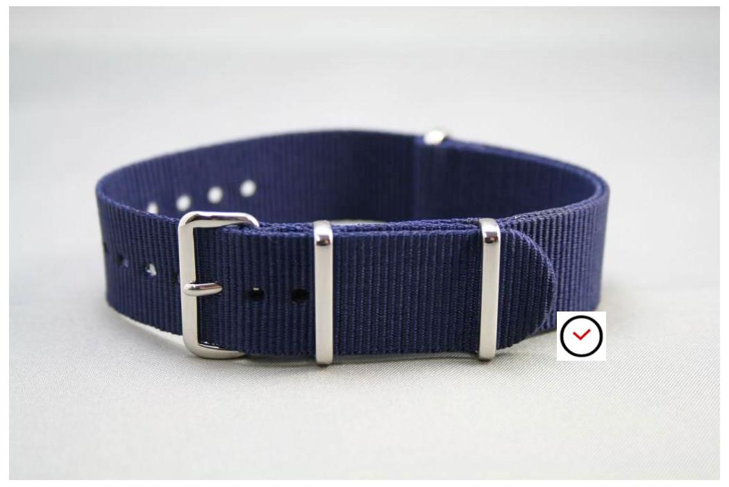 Navy Blue G10 NATO strap (nylon)