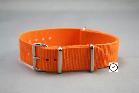 Orange G10 NATO strap (nylon)