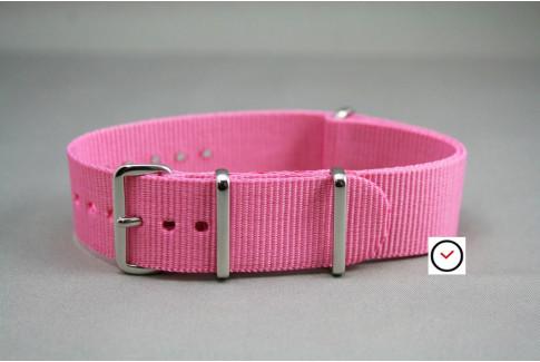 Pink G10 NATO strap (nylon)