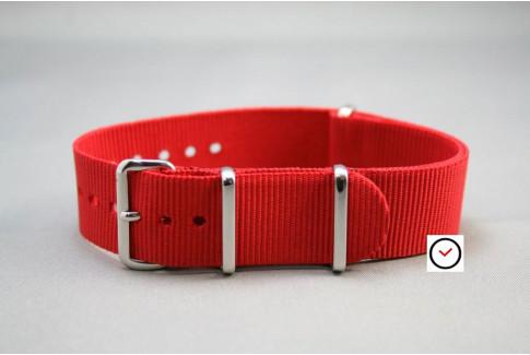 Red G10 NATO strap (nylon)