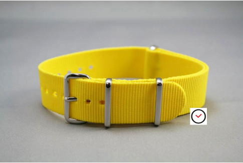 Yellow G10 NATO strap (nylon)