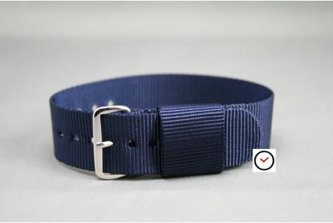 Bracelet nylon US Military Bleu Nuit