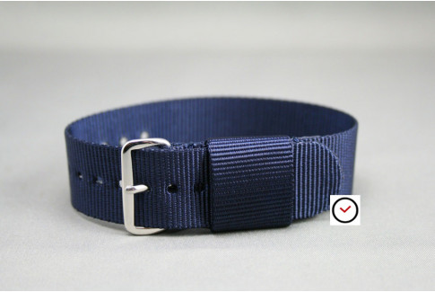 Night Blue US Military nylon watch strap