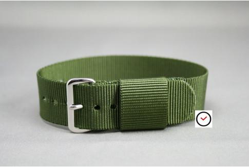 Bracelet nylon US Military Vert Kaki (Militaire)
