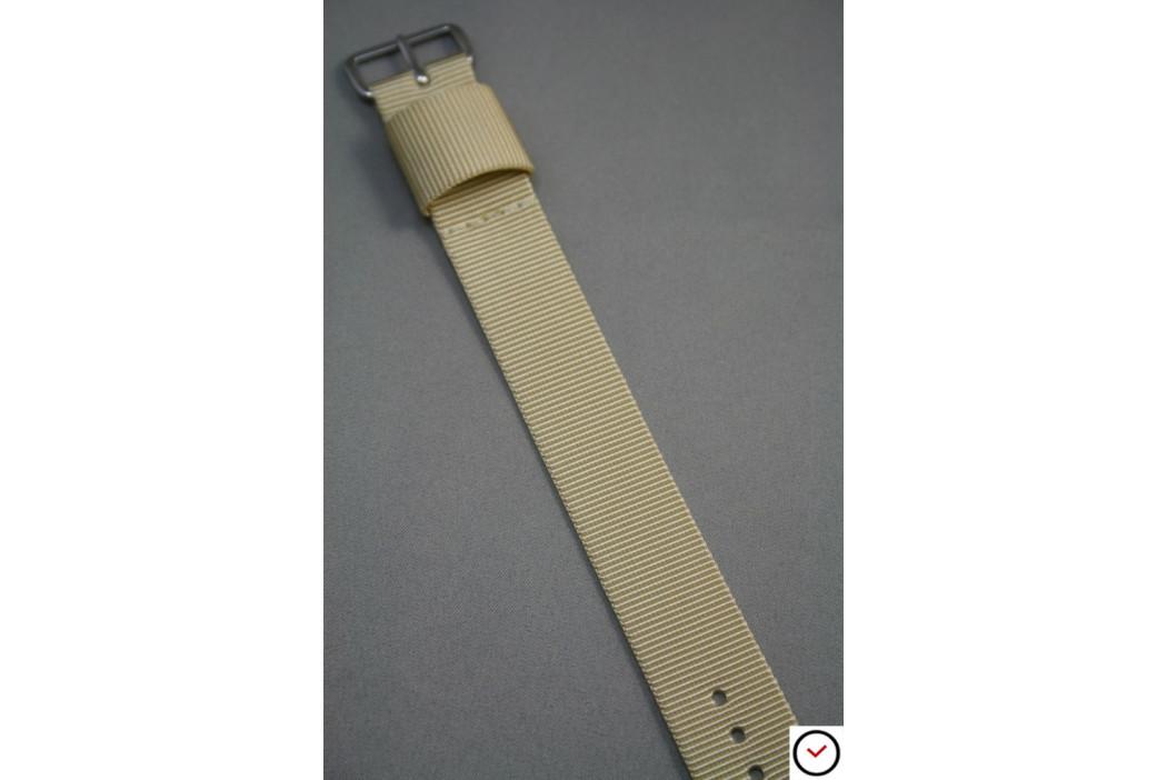 Sandy Beige US Military nylon watch strap