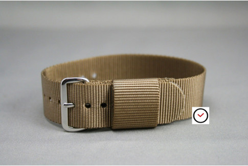 Bracelet nylon US Military Marron Bronze