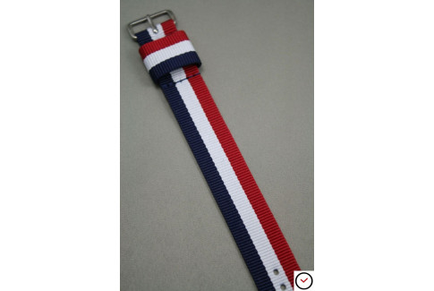 Bracelet nylon US Military Tricolore Bleu Blanc Rouge