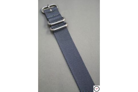 Bracelet nylon ZULU Gris
