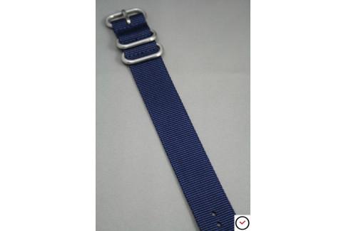 Bracelet nylon ZULU Bleu Nuit