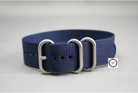 Night Blue ZULU nylon strap (highly resistant fabric)