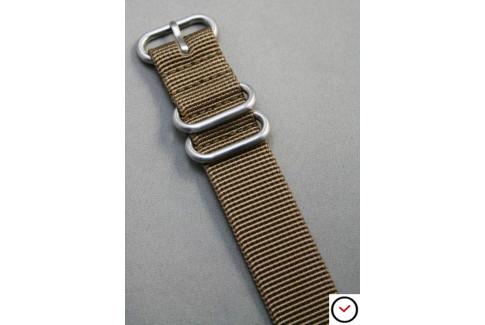 Bracelet nylon ZULU Marron Bronze