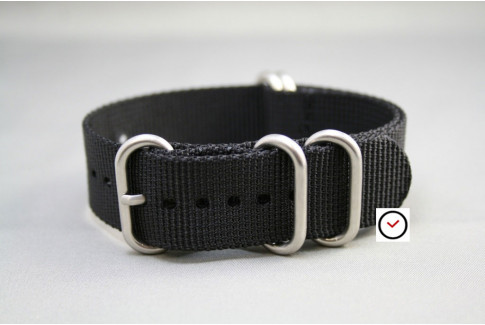 Bracelet nylon NATO ZULU Noir
