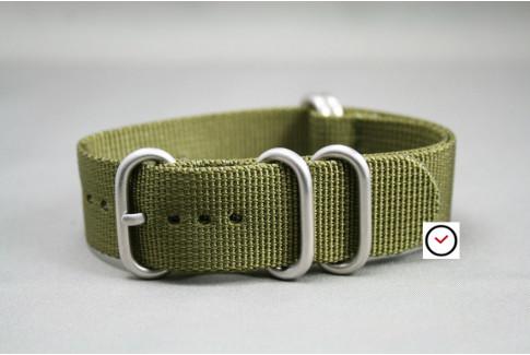 Bracelet nylon NATO ZULU Vert Olive