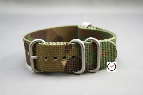 Bracelet nylon NATO ZULU Camouflage