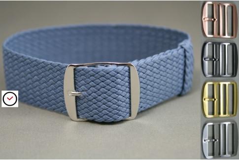 Sky Blue braided Perlon watch strap