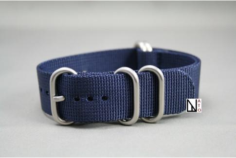 Bracelet nylon NATO ZULU Bleu Nuit