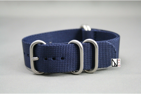 Night Blue NATO ZULU nylon strap (highly resistant fabric)