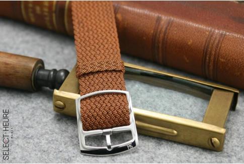 Bracelet montre Perlon tressé Orange Select'Heure