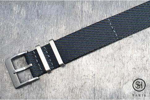 Bracelet montre Nylon Sergé SELECT-HEURE Gris