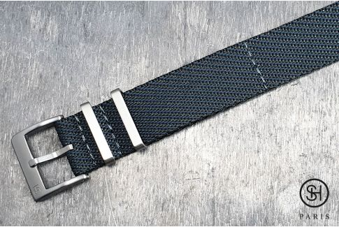 Grey Serge SELECT-HEURE nylon watch strap