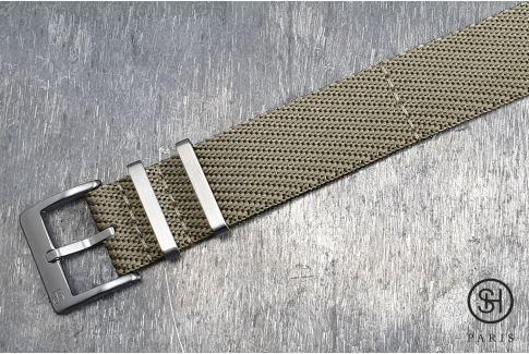 Bracelet montre Nylon Sergé SELECT-HEURE Beige