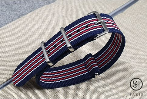 - London - SELECT-HEURE nylon NATO watch strap, stainless steel unremovable buckle