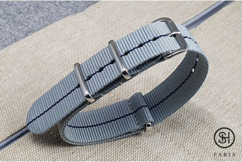 - Tokyo - SELECT-HEURE nylon NATO watch strap, stainless steel unremovable buckle