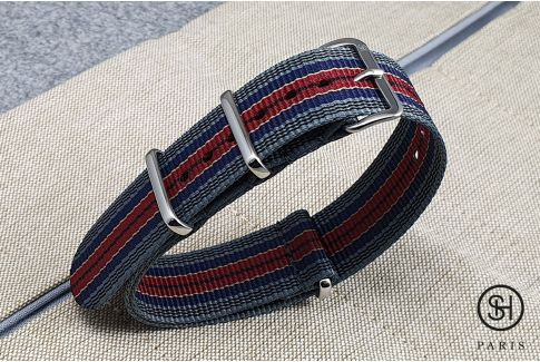 - Edinburgh - SELECT-HEURE nylon NATO watch strap, stainless steel unremovable buckle