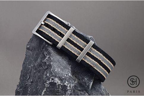 Bracelet NATO SELECT-HEURE Allure, nouveau modèle James Bond, nylon épais et boucle haut de gamme