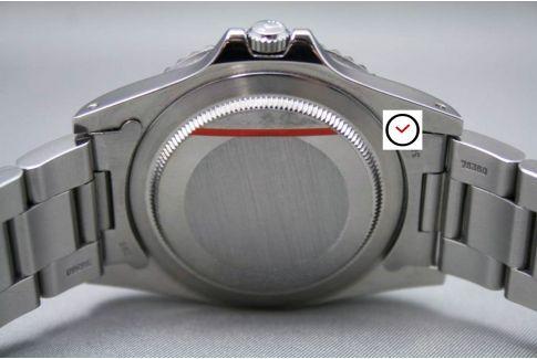 Sticker de protection (diamètre 26, 28, 30, 32, 36 ou 40 mm)