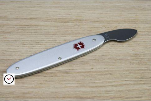 Couteau ouvre-boîtier professionnel 1 lame Victorinox, manche aluminium
