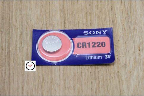 Piles Lithium 3V Sony pour montres et autres objets - tous types (de CR1220 à CR2450)