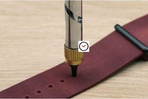 Outil perforateur (perforatrice pour faire des trous dans les bracelets montre)