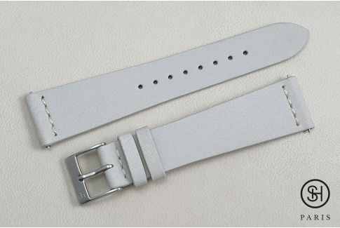 Linen Nubuck SELECT-HEURE leather watch strap with quick release spring bars (interchangeable)